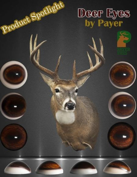 Check out the Payer Deer Eyes in Dark Brown or Medium Brown