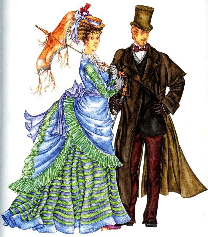 костюм европы 19 века