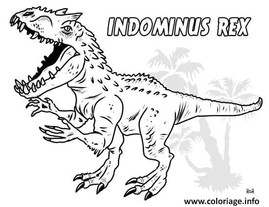 Coloriage Playmobil Foot.Coloriage Jurassic World T Rex Coloriagetrex0d In 2019