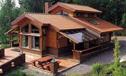 Casas de madera tropical casas pinterest casas de for Precios cabanas de madera baratas