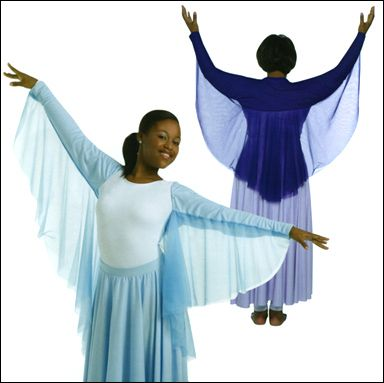 Praise Dance Wear Angel Wing Shrug Costumes Pinterest Costume