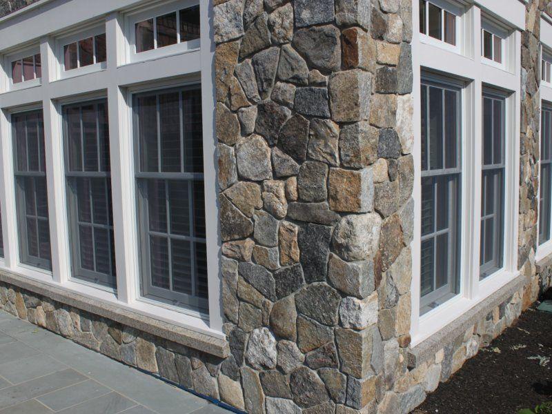 Thin Brick Veneer Stone Natural Thin Stone: Boston Blend Mosaic Thin Veneer In 2019
