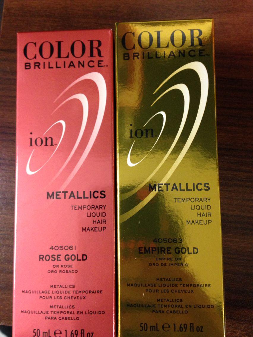 New Ion Color Brilliance Liquid Hair Colors Sallybeauty Ioncolorbrilliance Sallybeauty Rosegold Gold Liquid Hair Ion Color Brilliance Ion Hair Colors