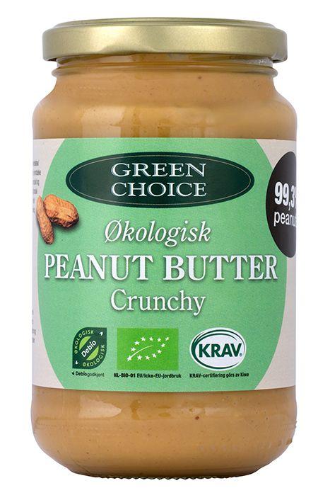 organic peanut butter crunchy green choice
