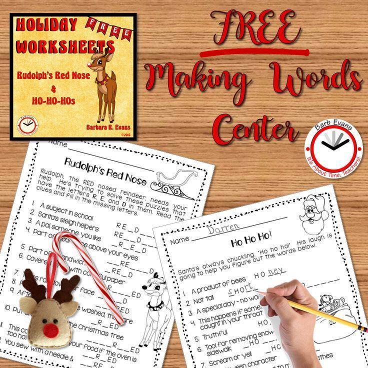Holiday worksheet FREEBIE! | Holidays/Seasons | Pinterest ...