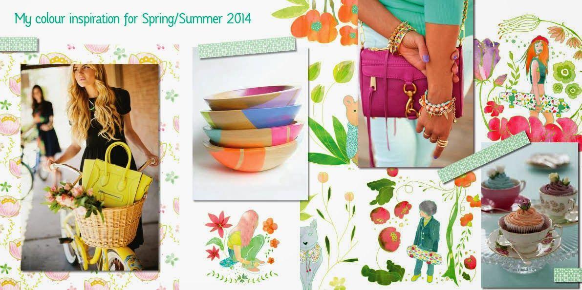Colour inspiration for spring/summer designs