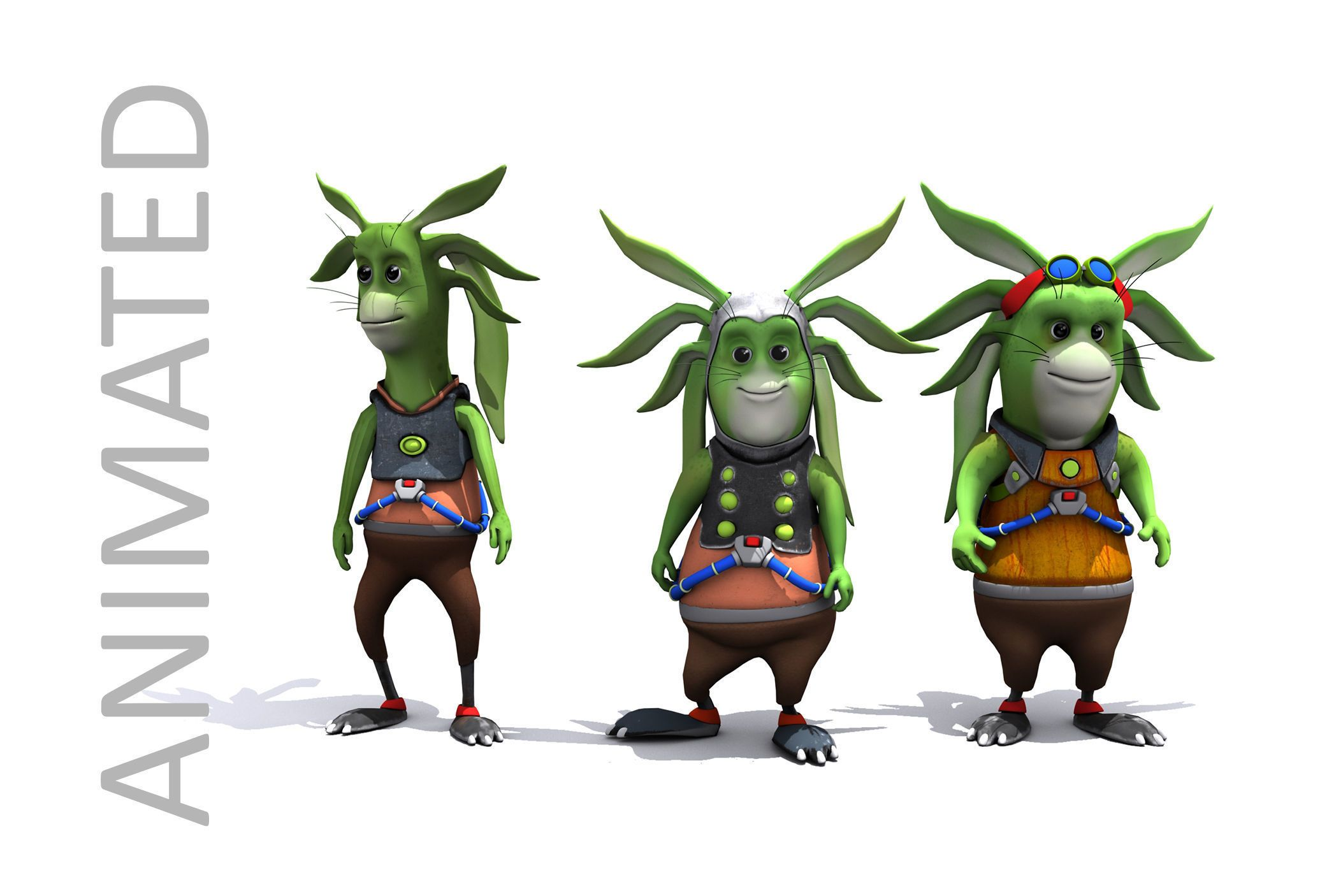 Pin By Cgtrader On 3d Characters