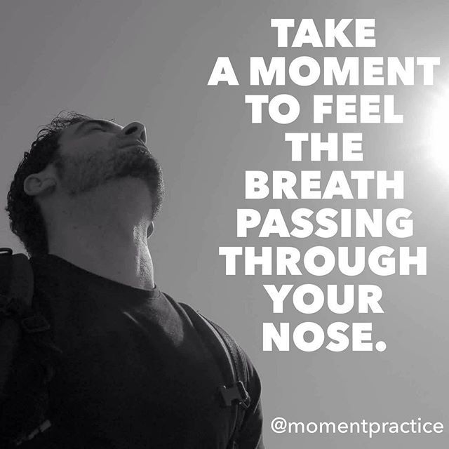 Another breathing practice. This time lets bring our focus to a more  precise sensation. This kind of practice train your concentration the ability to keep your attention where you decide to.  Keep on practicing one moment at a time.