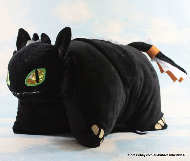 NEW How to Train Your Dragon Cushion / Pillow Pet ...