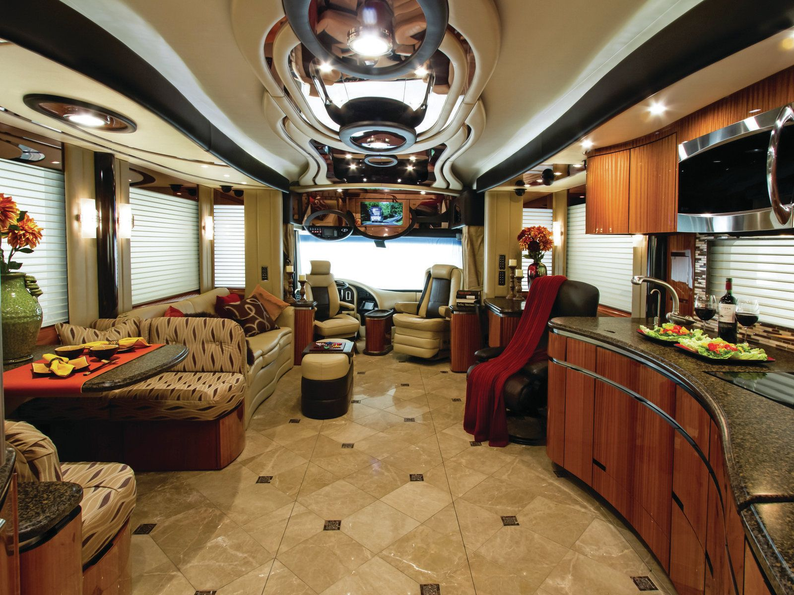 luxury motorhomes luxury rv rv trailer trailers rv interior