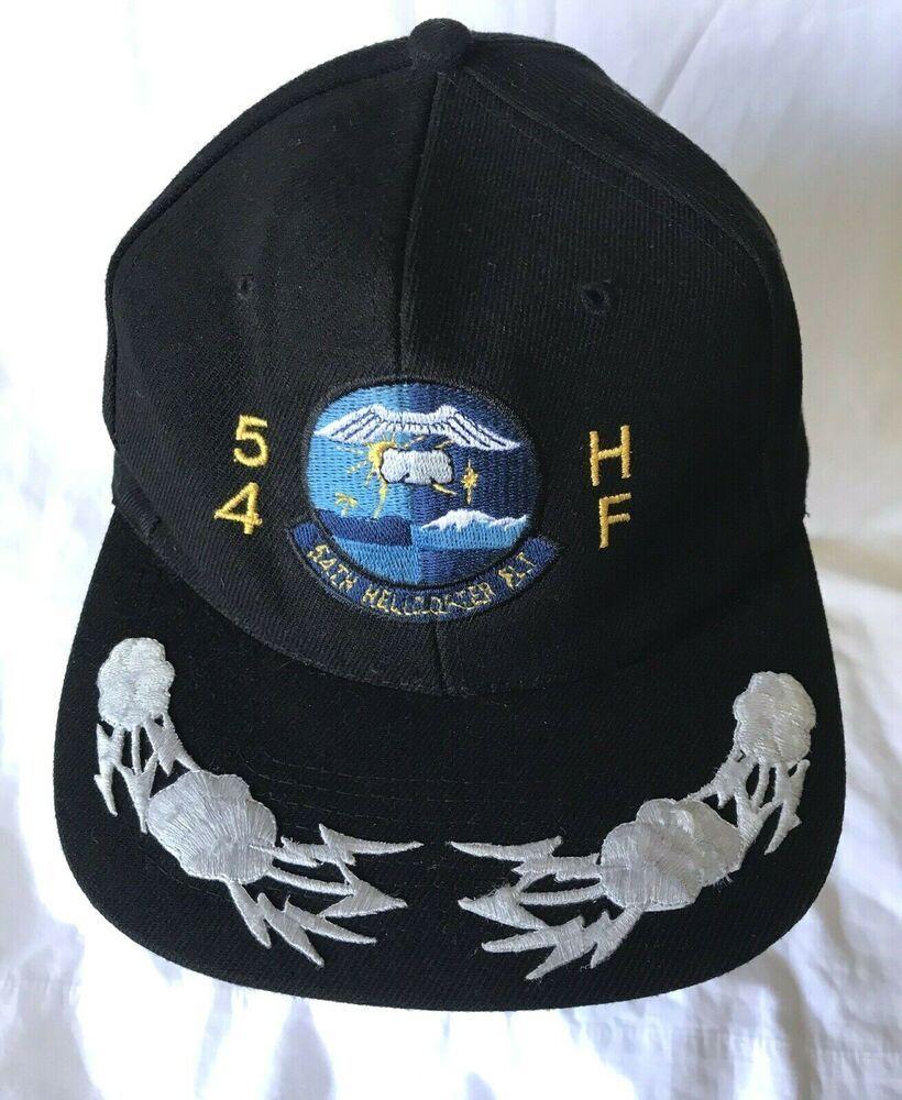 54th Helicopter Flt Flight Squadron Officer Baseball Hat Cap 54 Hf Usaf Minot Nissun Baseballcap Usafnorthdakota Baseball Hats Womens Hats Baseball Hats