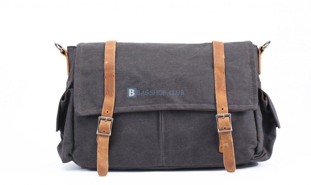 66.99 Mens Small Canvas Shoulder Bags School Bags 2be8fb9dd8d7f