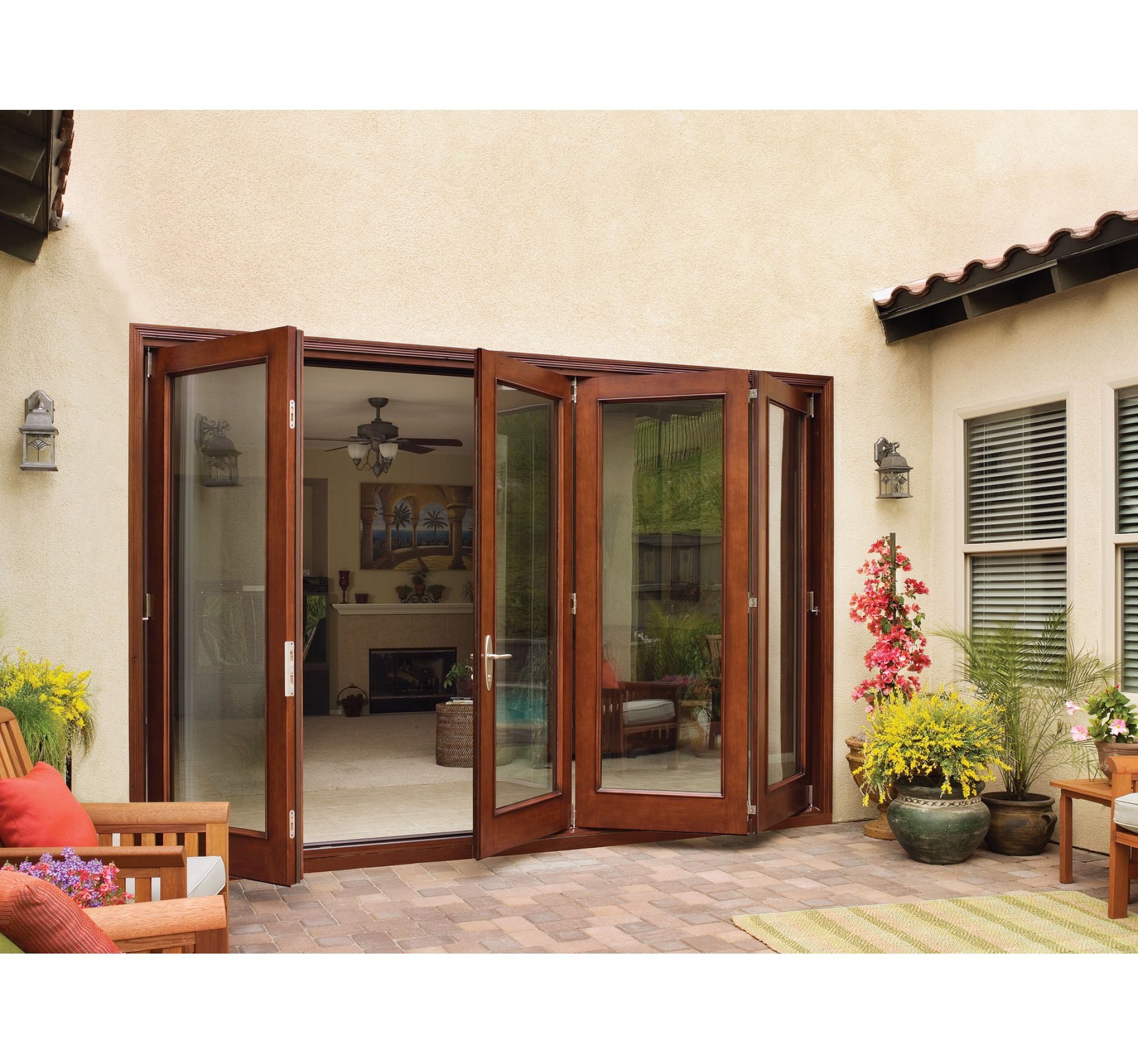 Aurora Custom Fiberglass Folding Patio Door