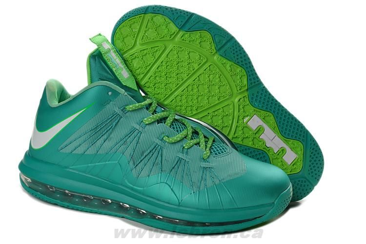 size 40 c5b88 c797b Buy Discount Crystal Mint Fiberglass - Poison Green Nike Air Max Lebron 10  Low Easter For Sale