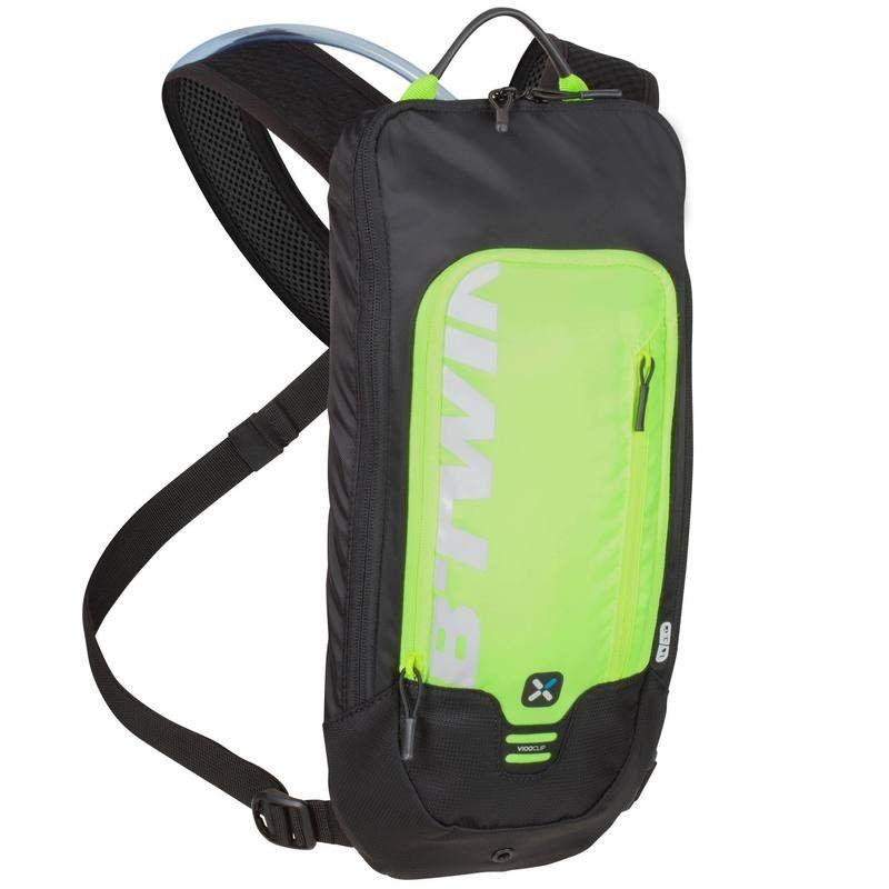 39ad7df8c292 Kerékpár kiegészítők Kerékpározás - 500 víztartó táska, neonsárga B'TWIN -  Kerékpár kiegészítők