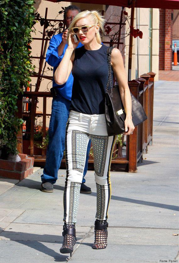 Gwen Stefani | Gwen Stefani's Printed Pants: Cool Or Crazy? (PHOTOS, POLL)