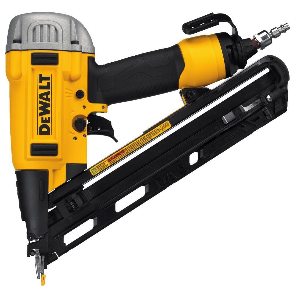Presion Point 15ga Finish Nailer Finish Nailer Used Woodworking Tools Dewalt
