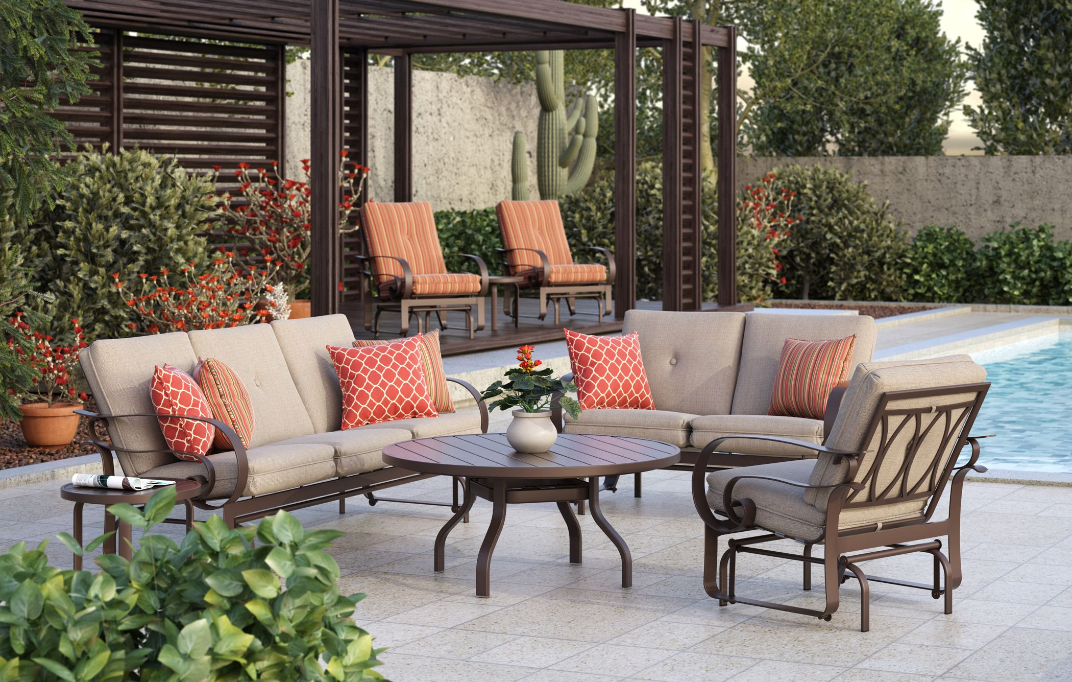 Introducing the Emory Cushion collection for the upcoming ... on For Living Lawrence Fire Pit id=61337