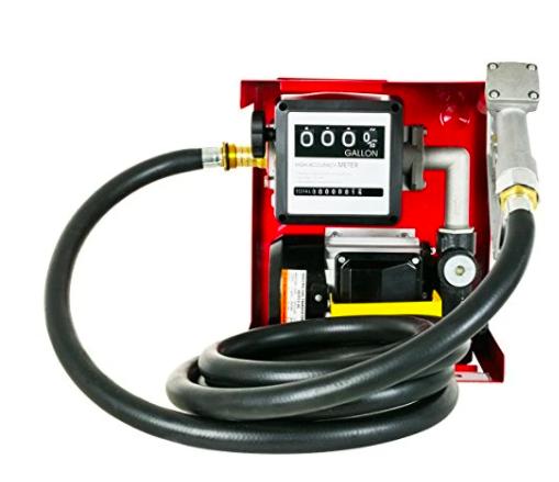 Durostar Ac 110 Volt 16 Gpm Cast Iron Bronze Rotor Fuel Transfer Pump Gpm Diesel Oil Hydraulic Fluid