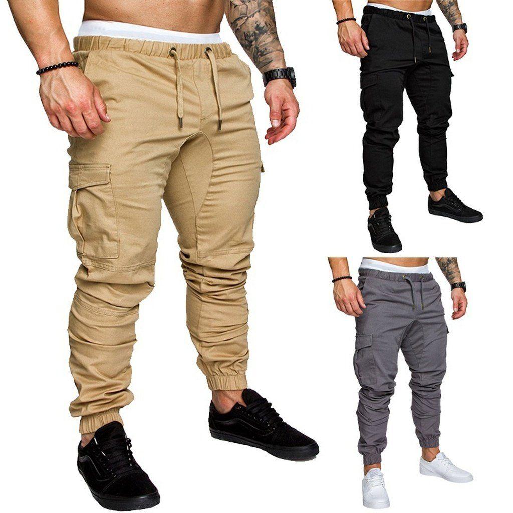 f81bda573ed 2018 High Quality Men s sport joggers hip hop jogging fitness pant casual  pant trousers sweatpants M-3XL