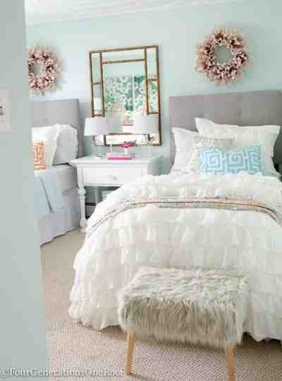 Image Result For Teen Girl Bedroom Grey Silver Gold