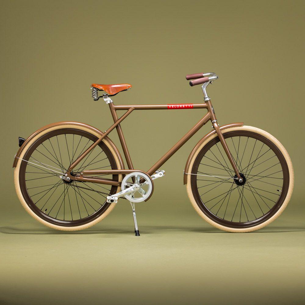De veloretti caf racer is een stoere minimalistische for Minimalistische fiets