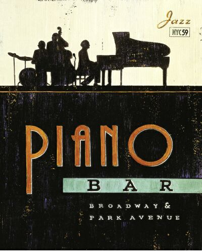 Piano Bar Piano Art Piano Bar Jazz Art