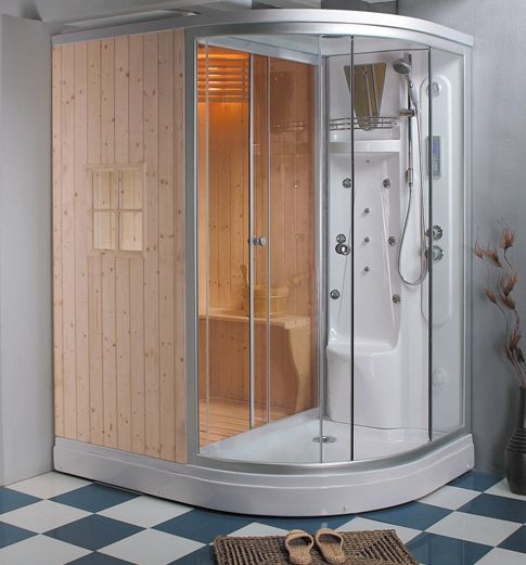 Shower sauna   For the Home   Pinterest   Saunas, Steam showers and ...