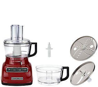 kitchenaid 7 cup exactslice food processor w extra bowl rh pinterest com au