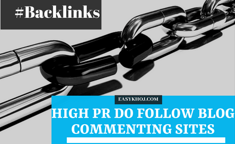To get approval on Top 350+ High PR Do Follow Blog Commenting Sites