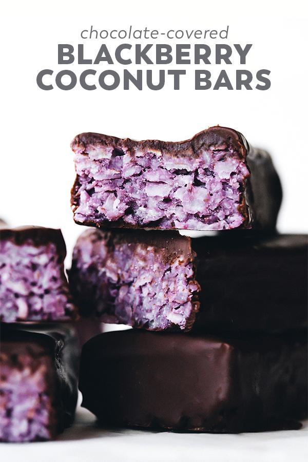 Blackberry Coconut Bars