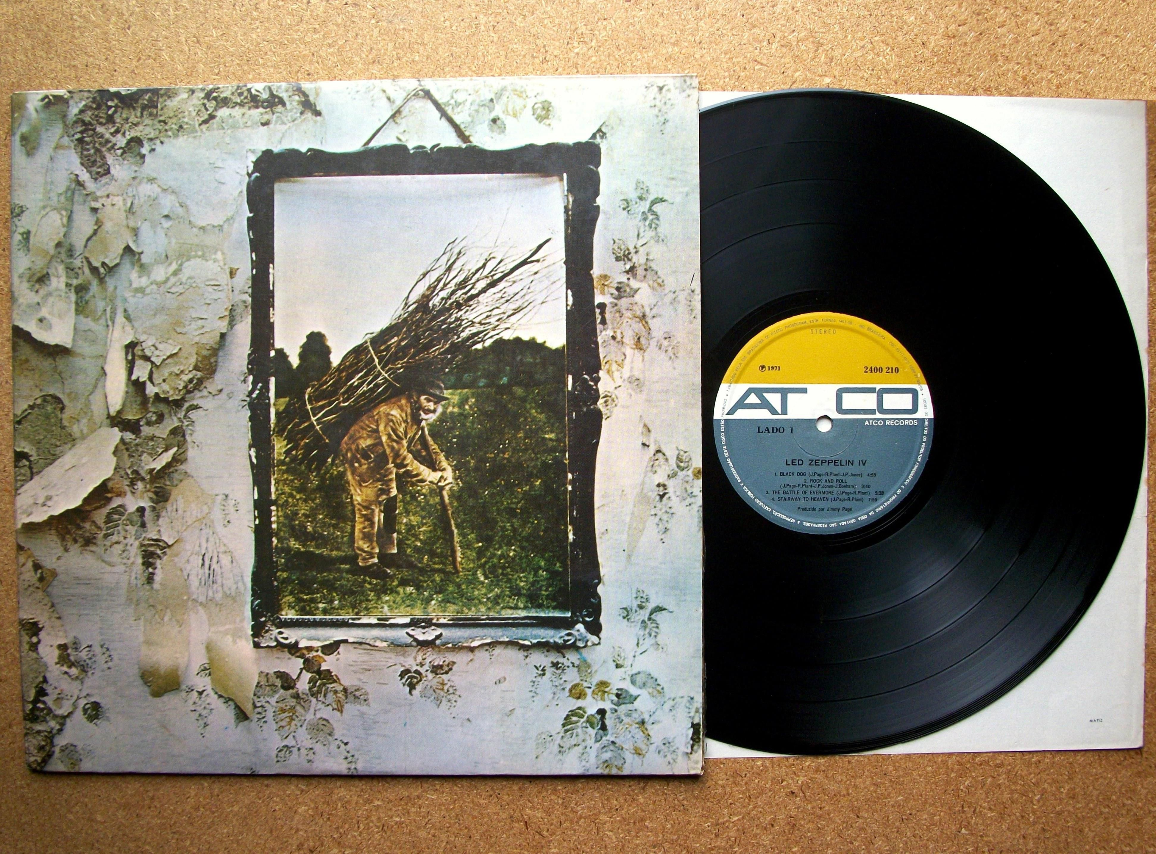Led zeppelin iv need to buy vinyls pinterest led zeppelin dec 4 1971 led zeppelin started a two week run at on the uk chart with the four symbols album otherwise known as led zeppelin iv featuring biocorpaavc
