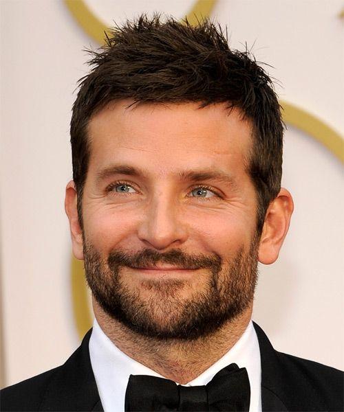 Bradley Cooper Short Straight Dark Brunette Hairstyle Bradley Cooper Haircut Bradley Cooper Hair Mens Hairstyles