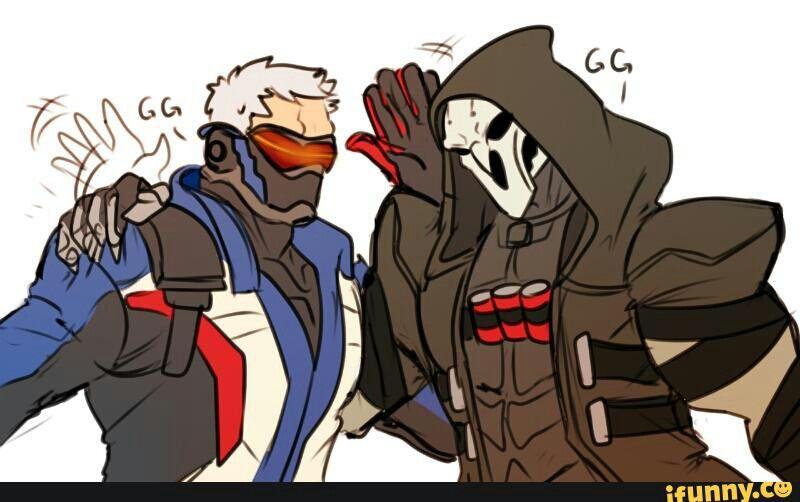 Reaper e Soldato 76
