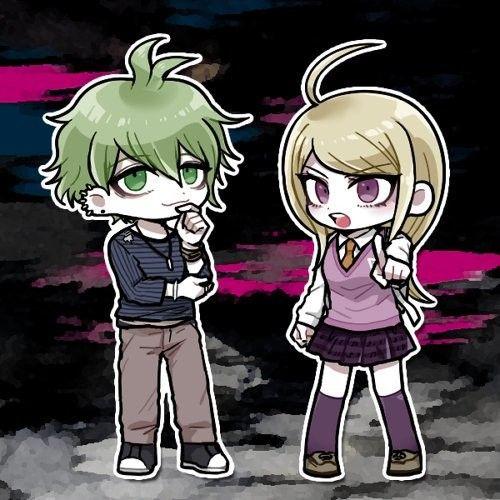Rantaro and Kaede
