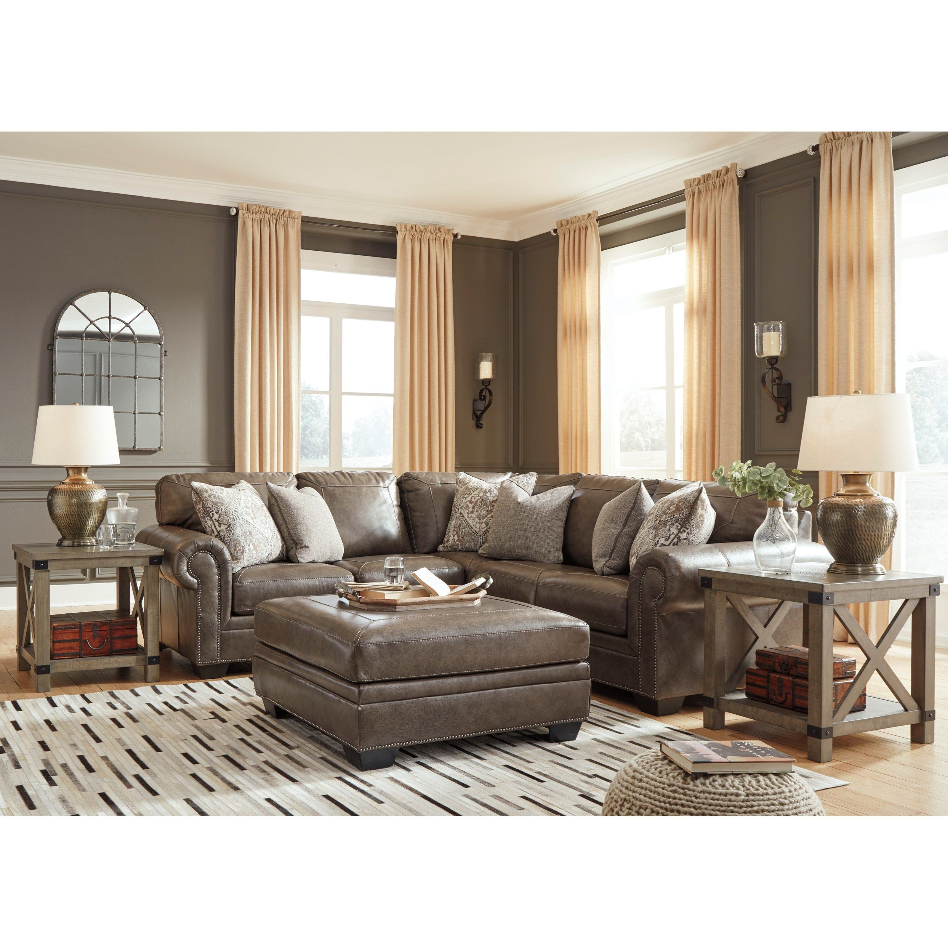 Signature Design By Ashley Roleson Stationary Living Room Group