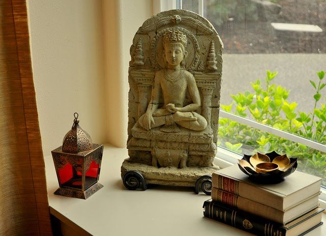 Buddha Peaceful Corner Zen Home Decor Interior Styling: Home In India - Inspirations
