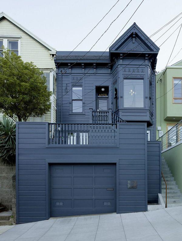 Maison victorienne avec une d coration moderne maisons for Architecture victorienne