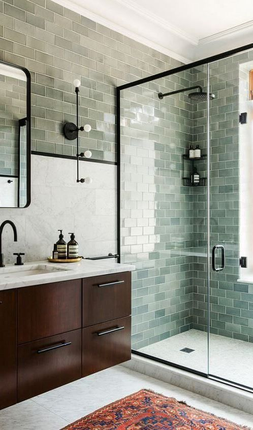Best Minimalist Interior Designs For Your Home Pinterest - Fully tiled bathroom