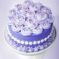 Abundant Roses Cake by Beth Somers, this might not be too difficult!
