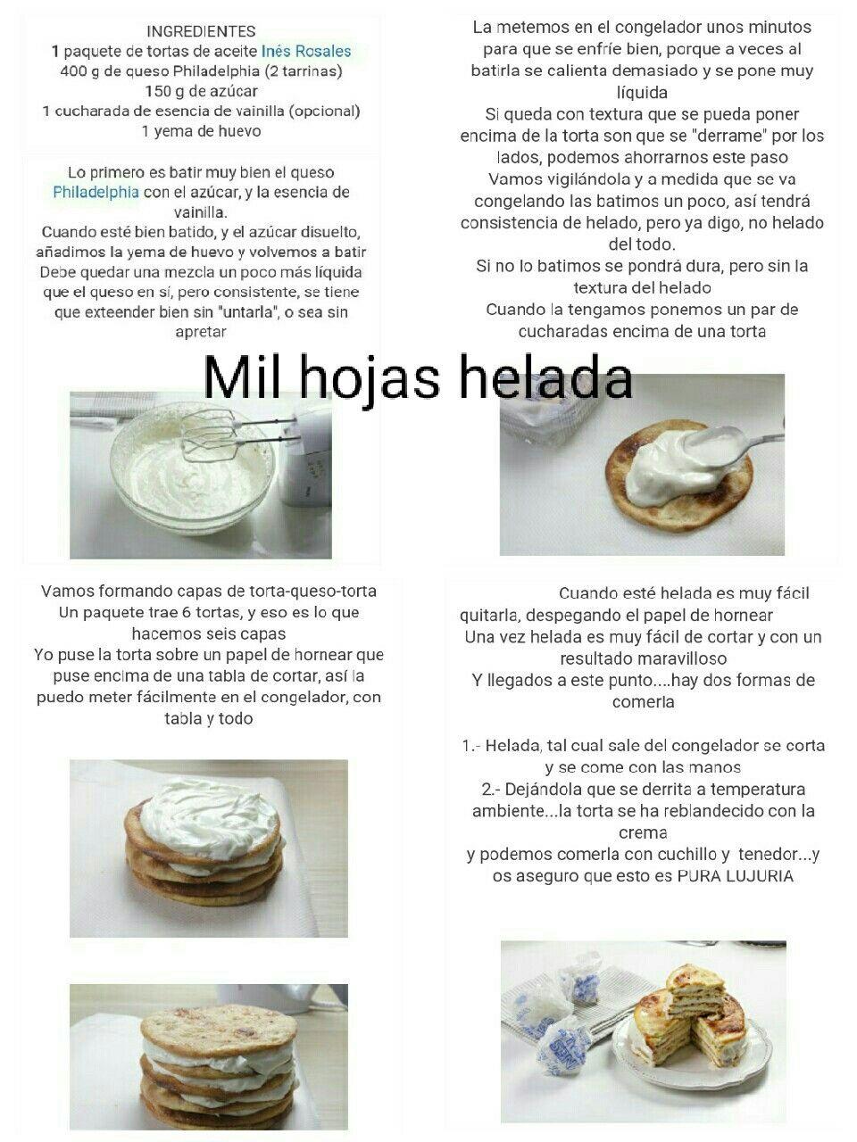 Pin De Bere Nice En Recetas Tortas Ingredientes Recetas