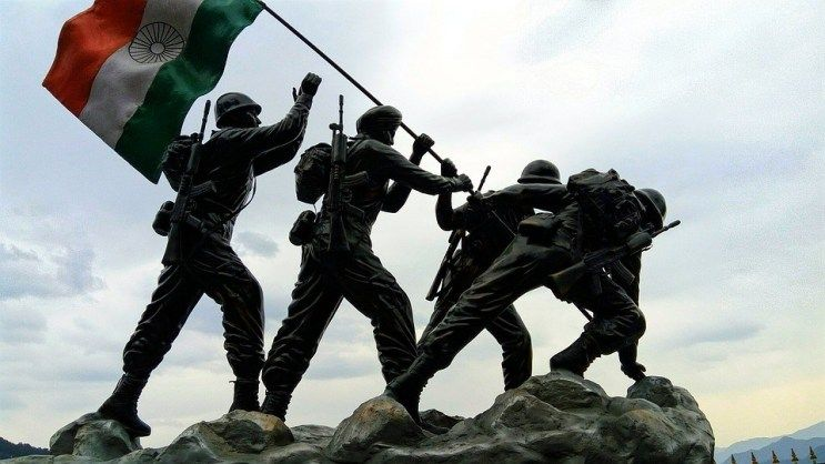 Services Before Self The Indian Army Is The Land Based Branch And The Largest Component Of Indian Armed Forces Army Images Indian Army Wallpapers Army Day