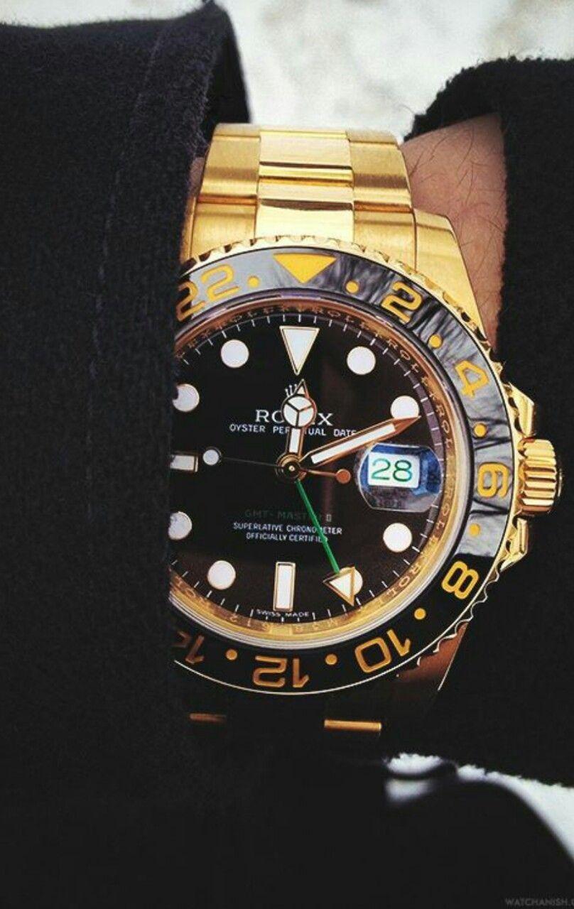 Rolex Gentleman's Essentials Gold rolex, Rolex watches