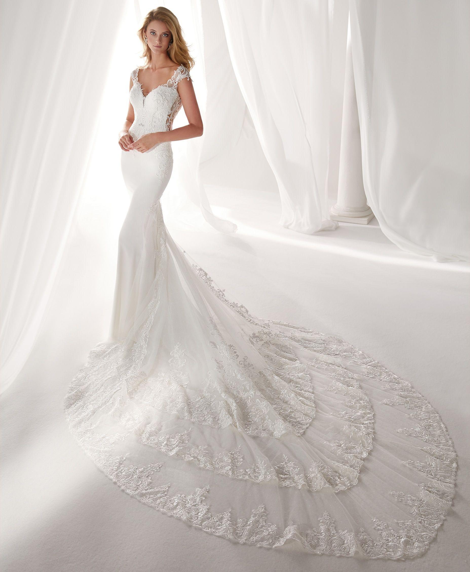 Moda Sposa 2019 Collezione Nicole Niab19042 Abito Da Sposa Nicole Abiti Da Sposa Di Design Abiti Da Sposa A Sirena Vestiti Da Cerimonia Nuziale