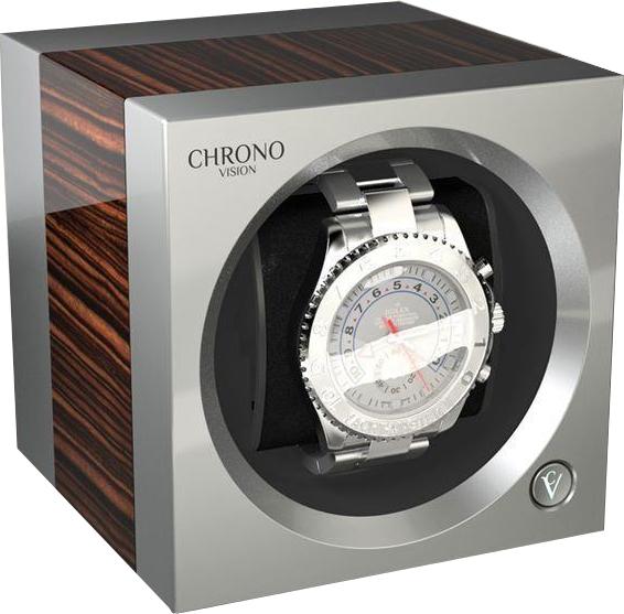 Chronovision One Macassar High Gloss / Chrome Silk