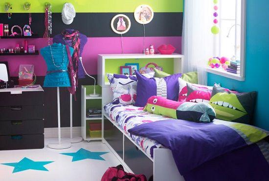 Dormitorios juveniles con muebles de ikea buscar con for Habitaciones infantiles dobles ikea