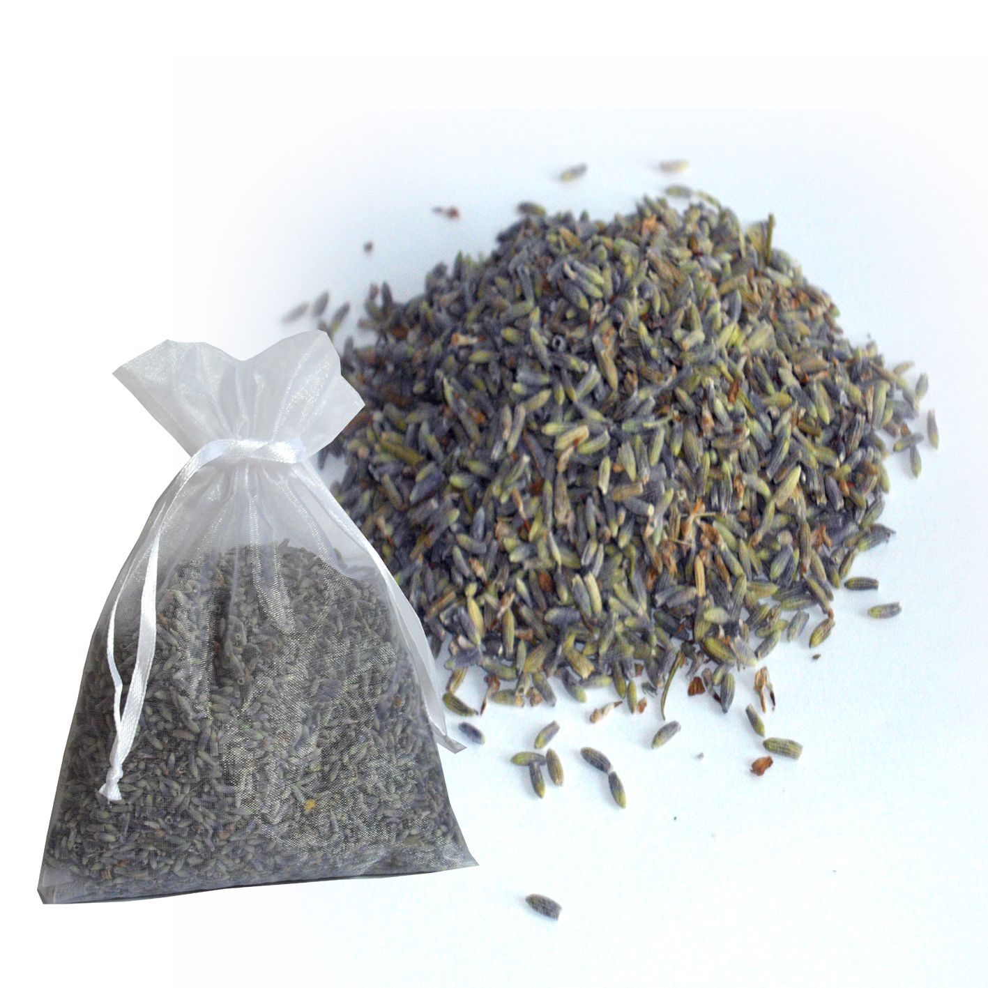 Dried Lavender has many uses, one being to freshen your clothes in a wardrobe or drawer