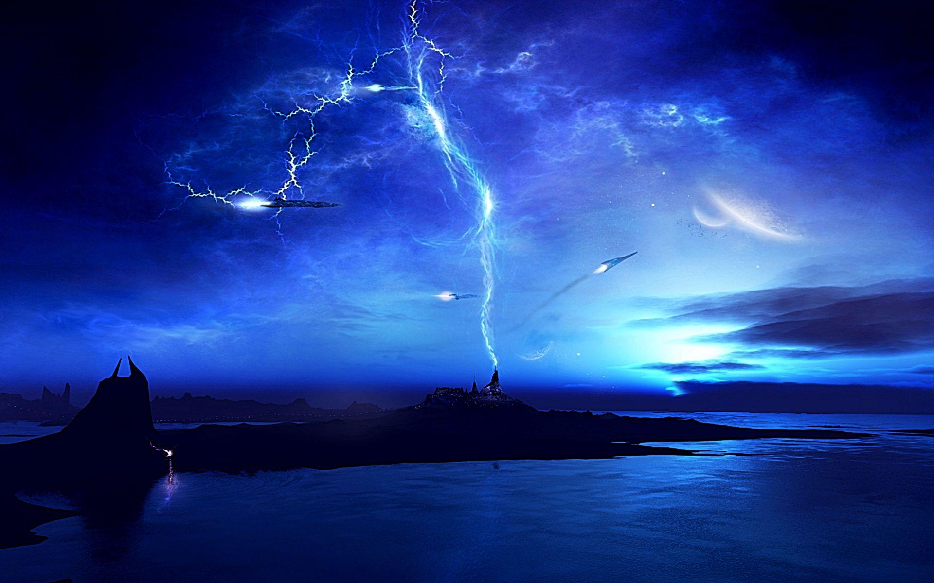 A solar storm. | Vague, Ouragan