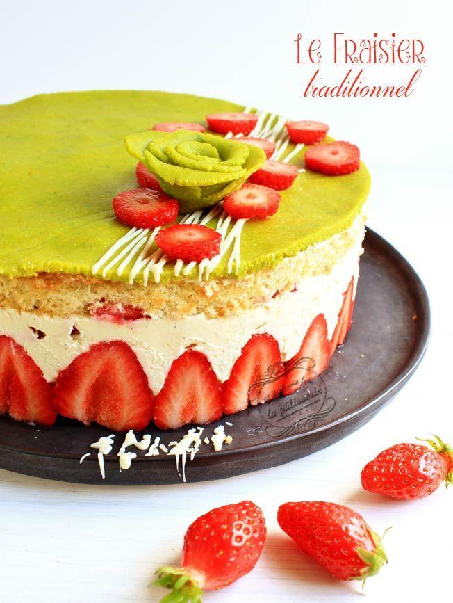 Naked cake aux fraises - Il était une fois La kuisine