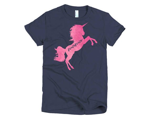 Unicorn Shirt Gift For Her Mommy And Me Tops
